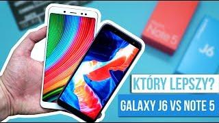 Galaxy J6 vs Redmi Note 5  - Xiaomi czy Samsung? Porównanie / Mobileo [PL]