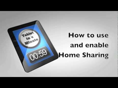 How To Use And Enable Home Sharing