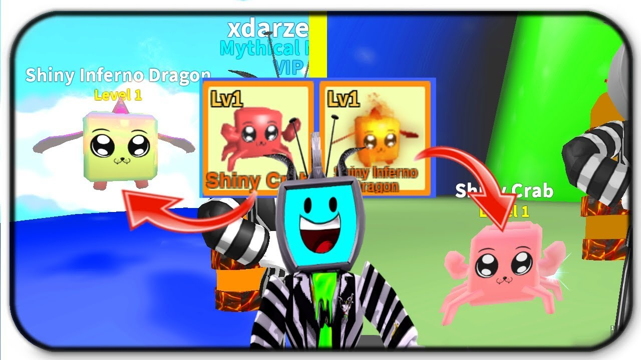 Getting Shiny Mythical Pets In Roblox Mining Simulator Shiny Pet