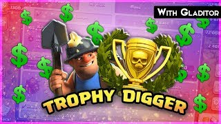 2100 trophies in 24 hours Crystal to Titan league | Clash of Clans | Coc Clashers