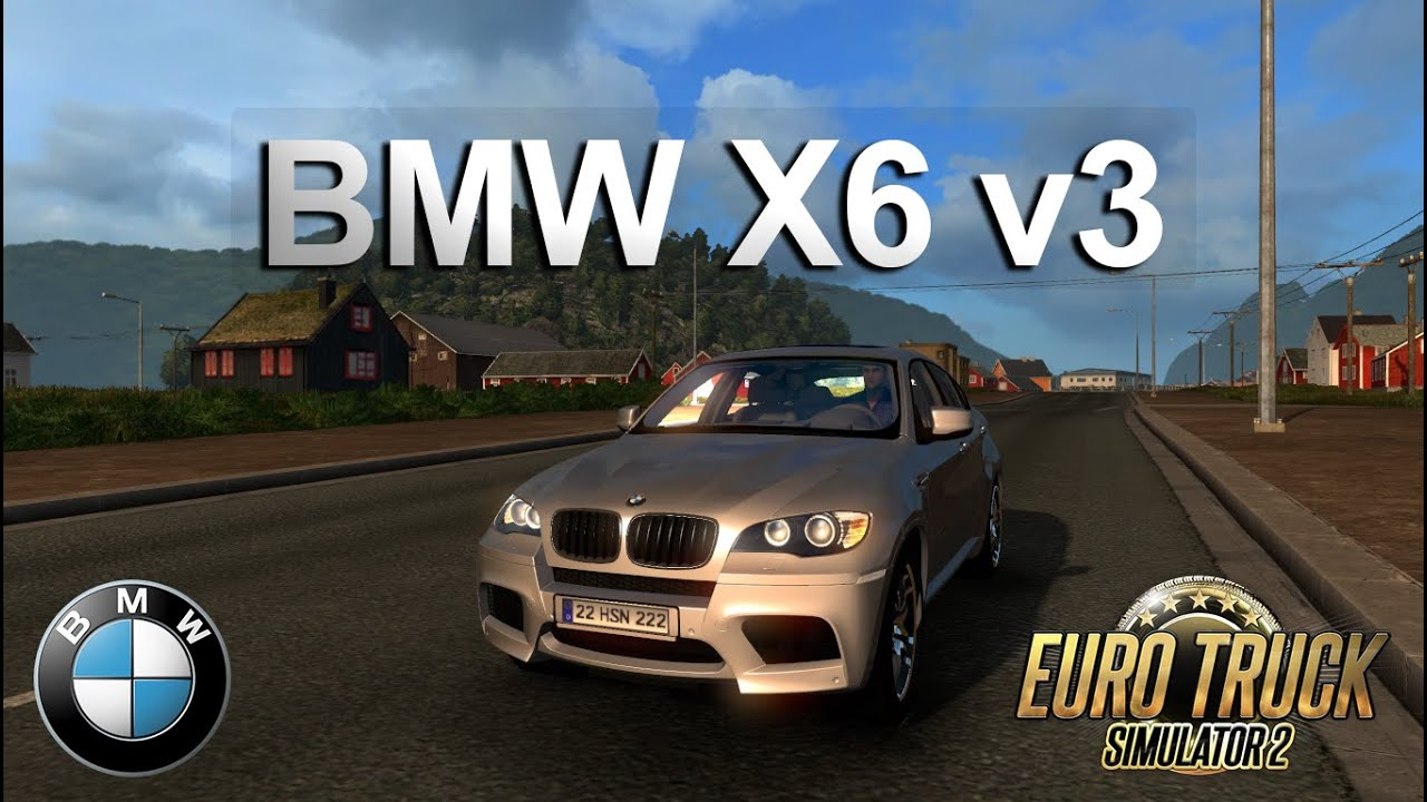 euro truck simulator 2 - bmw x6 v3 modu - youtube