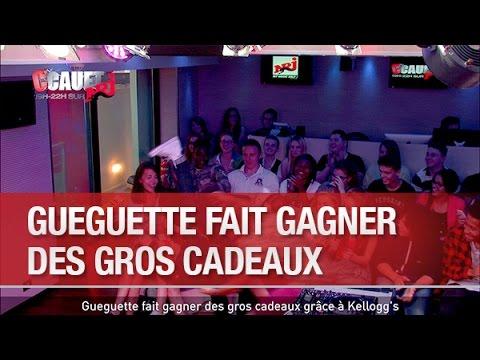 Gueguette fait gagner des gros cadeaux grâce à Kellogg's - C'Cauet sur NRJ