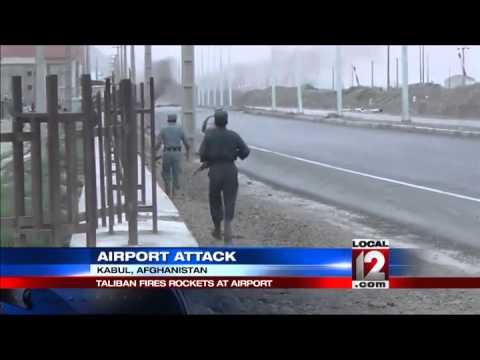 Gunmen attack airport in Afghan capital