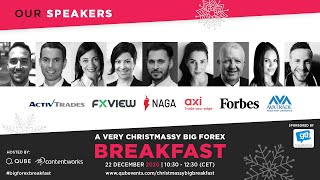QUBE Forex Webinar 2020: The Big Forex Breakfast - A Very Christmassy Big Forex Breakfast 2020 #qube