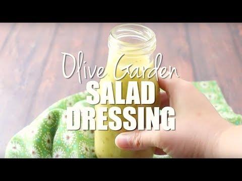 How To Make: Copycat Olive Garden Salad Dressing