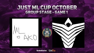 Just Ml Cup October Day 2 Arkangel Vs Ml O Ako Game 1 Bo3  Just Ml Mobile Legends