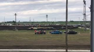 Figure 8 racing in Osage @ 7pm 6/14/19 Small Heat 1