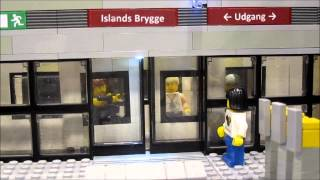 LEGO Mindstorms Metro Station with Sliding Doors