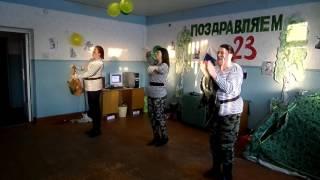 23 февраля Русско-Полянский почтамт УФПС Омской области - филиала ФГУП