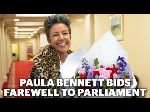 Paula Bennett Bids Farewell To Parliament