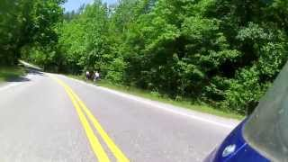 Blood Mountain Ride Leaning & Curving - ( U.S Route 19 )