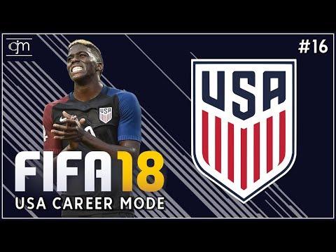 FIFA 18 USA Career Mode: Berkenalan Dengan Pemain-Pemain Timnas USA #16 (Bahasa Indonesia)