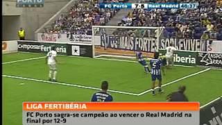 Futebol Indoor: FC Porto Vintage-Real Madrid, 12-9 (final da Liga Fertiberia 2014)