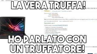 (VIDEO IMPORTANTE) DENUNCIO UN TRUFFATORE! - LA VERA TRUFFA SU AMAZON
