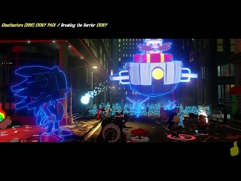 Lego Dimensions: Ghostbusters (2016) / Breaking The Barrier STORY - HTG