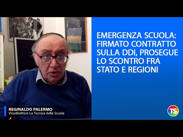 Emergenza scuola: firmato il contratto sulla DDI, prosegue lo scontro fra Stato e Regioni