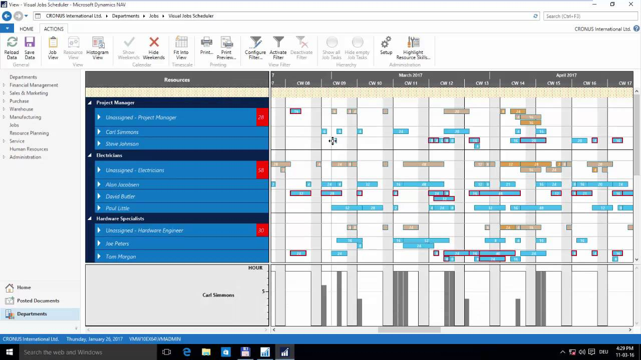 Introduction Visual Jobs Scheduler For Microsoft Dynamics