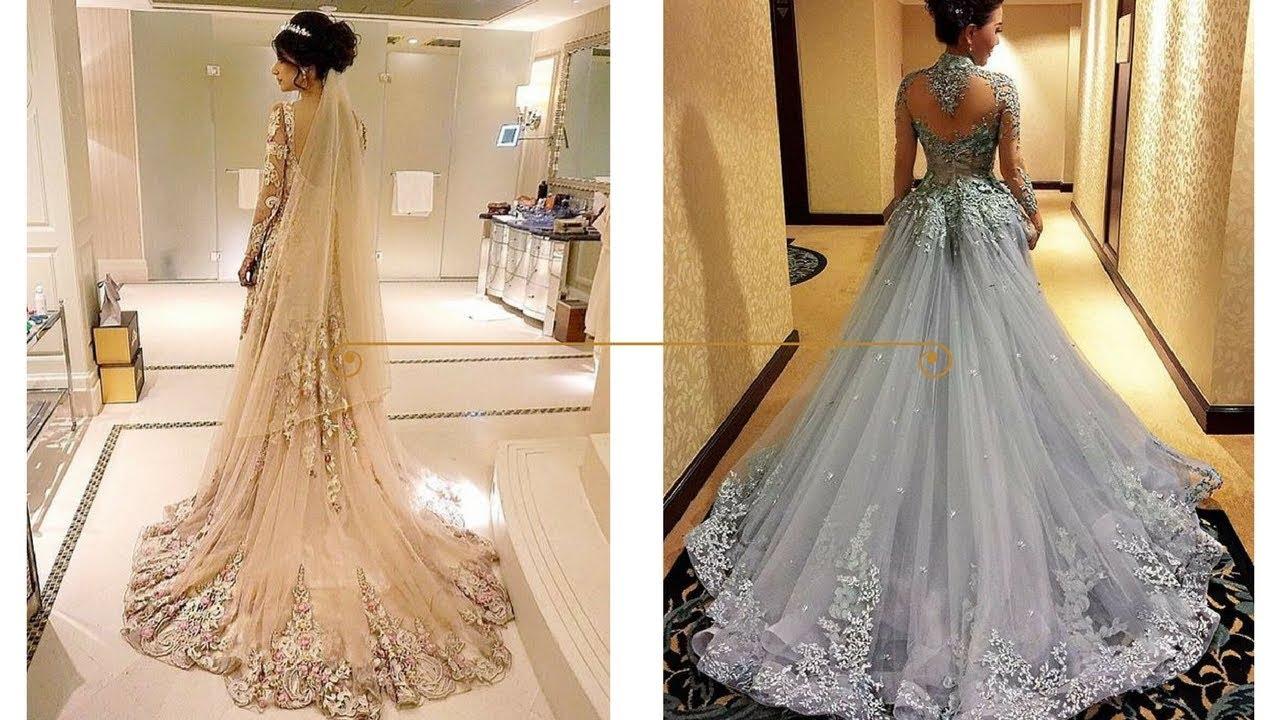 El vestido mas bonito de novia del mundo