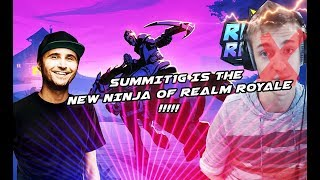 Summit1g Is The Ninja Of Realm Royale Realm Royale Highlights Funny And Best Moments #1