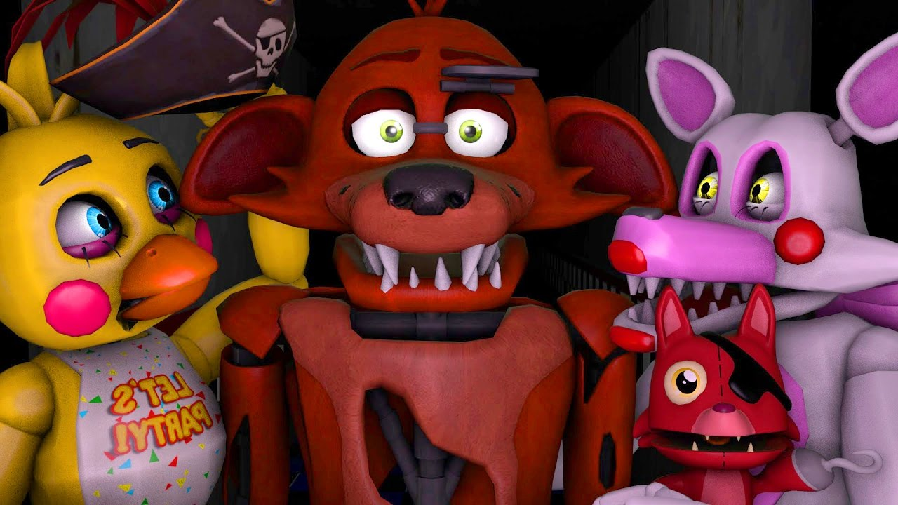 FNAF Toy Chica Or Toy Mangle Animations (Five Nights At