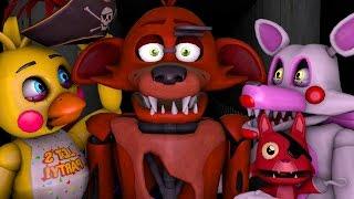 FNAF Toy Chica or Toy Mangle Animations Five Nights at Freddy s Animation