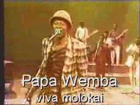 PAPA WEMBA &VIVA LA MUSICA  MOLOKAI