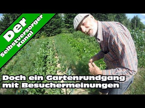 Gartenrundgang und Besuchermeinungen im Juli