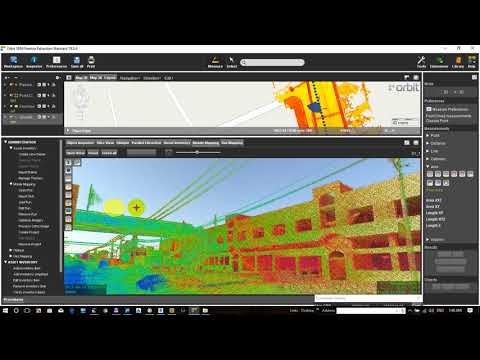 LiDAR Applications, Mobile Mapping Systems / Orbit Software ( features  extraction )