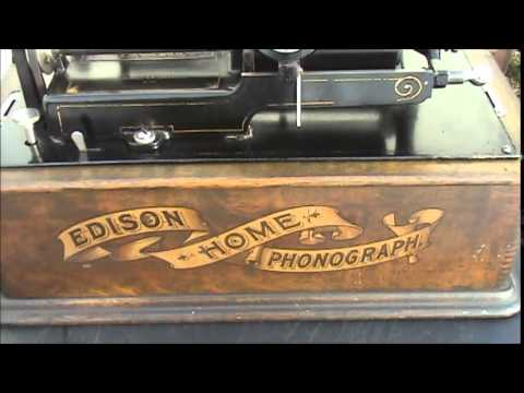 1902 Edison Home Phonograph Model A Playing Youtube