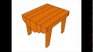 Adirondack Table Plans