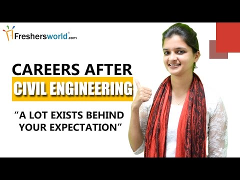 After Civil Engineering ? - MS,M.Tech,JOBS,Start-ups,UPSC