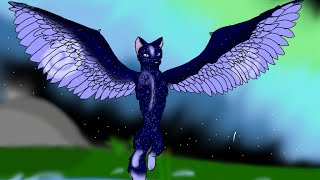 Speed drawing Galaxy wolf YouTube
