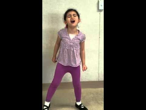 5 year old Girl Sings Exs And Ohs By Elle King
