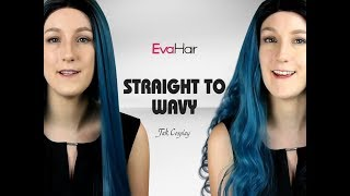 How To Do Curly Synthetic Wig Review From Evahair-Jak Cosplay
