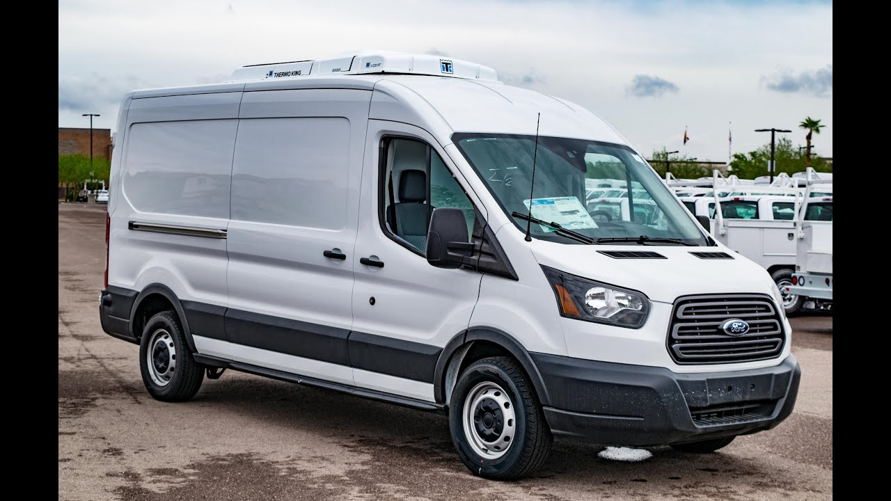 2015 ford transit t 250 ecoboost thermoking v520rt 20 tk west insulation youtube. Black Bedroom Furniture Sets. Home Design Ideas
