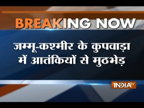 Security Forces Encounter with Terrorists in Kupwara