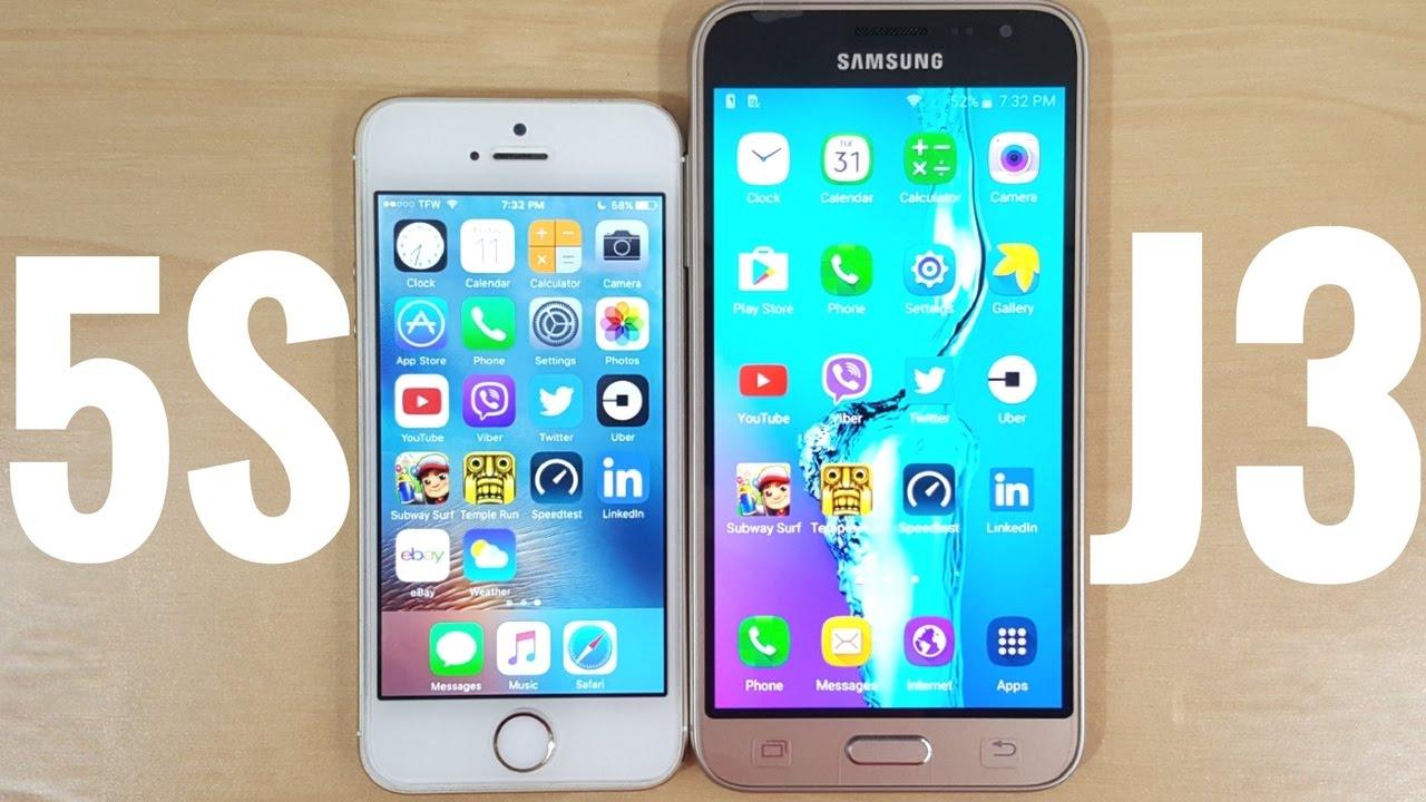 Iphone Se Vs Samsung J