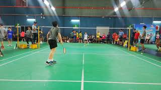 Afiq Vs Brayden Tan Yu Xiao - New Gen Lead Sports Junior Badminton Championships 2018