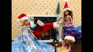 NOWOŚĆ!  BAJKA BARBIE PO POLSKU Jak św. Mikołaj zapomniał o prezentach !! #3