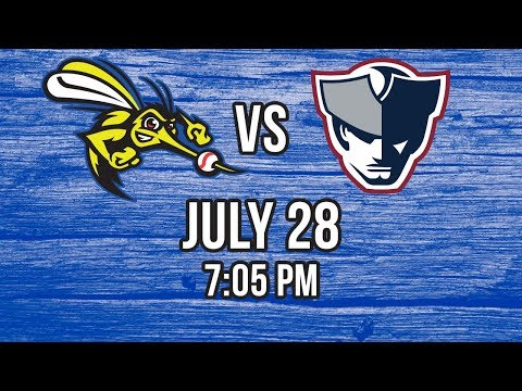 7/28/17-Sugar Land Skeeters vs. Somerset Patriots