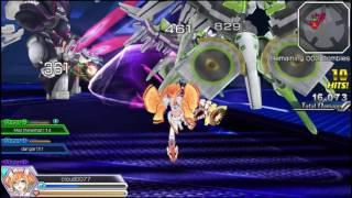 MegaTagmension Blanc + Neptune VS Zombies Multiplayer Fun part 1!