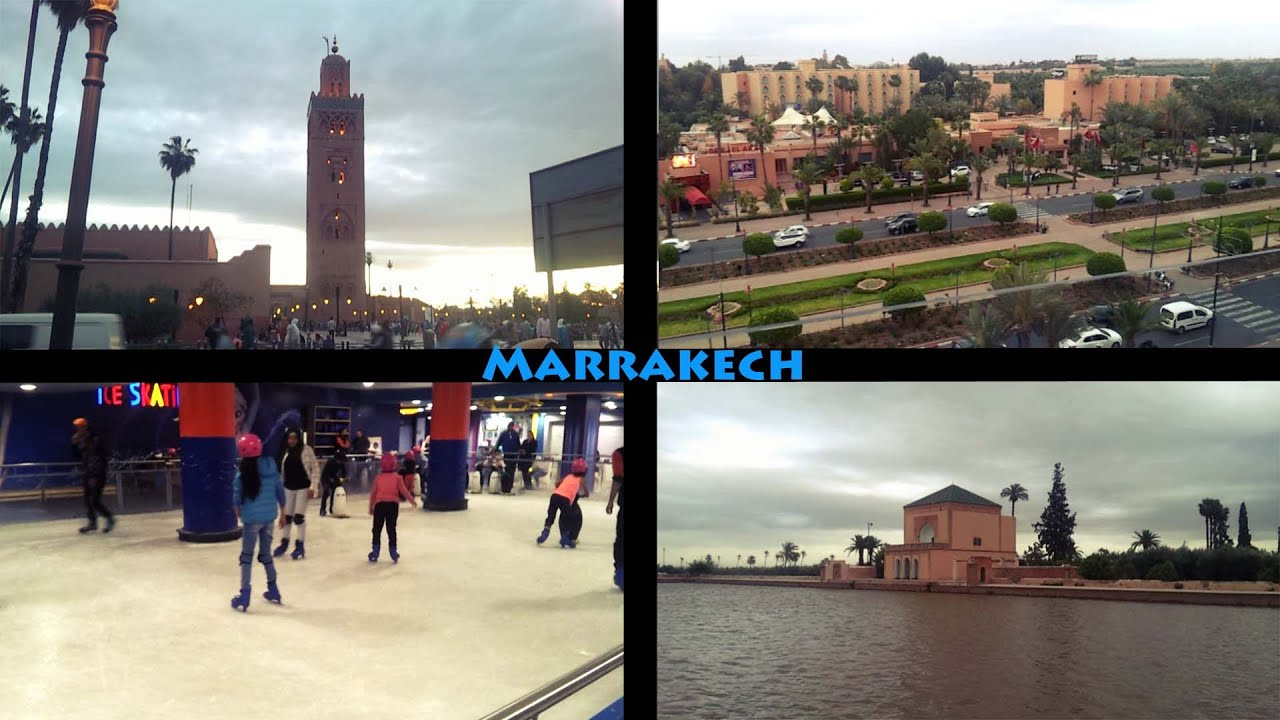 Marrakech Morocco - Quick city Tour - Menara Mall