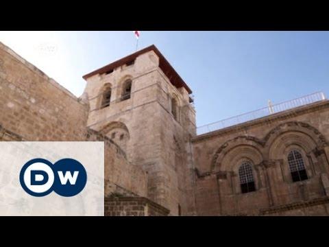 Restoration of Jesus's tomb in Jerusalem underway   DW News