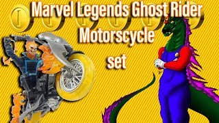 Marvel Legends Ghost Rider and MotorCycle Set Review