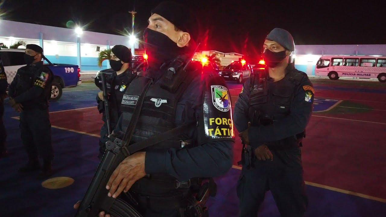 Ações da PMSE durante a Operação Nacional Maria da Penha
