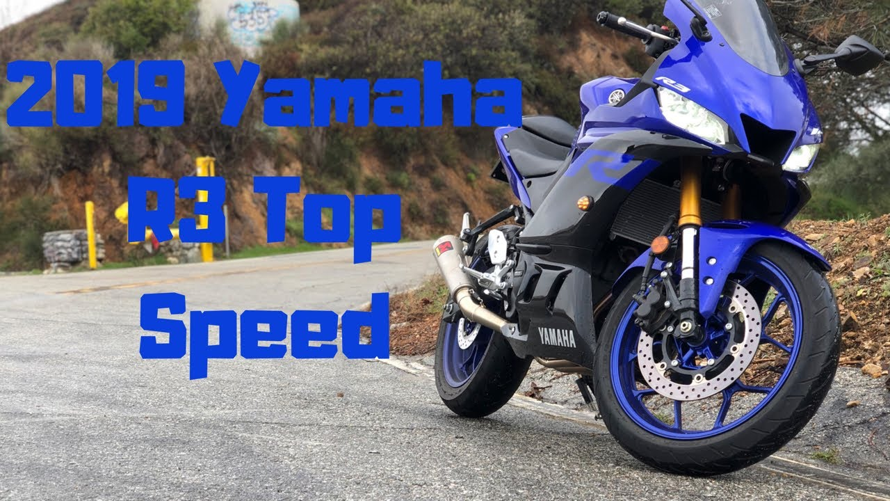 2019 Yamaha R3 Top Speed Mph Youtube