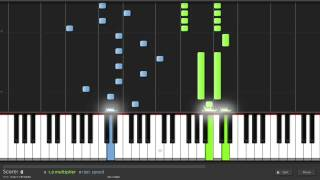 jimmyc - Wedding Dress by Tae Yang piano full speed tutorial [HD]