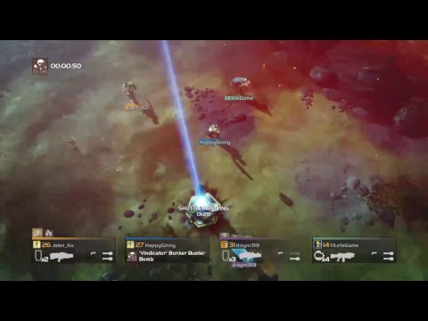 Helldivers Multiplayer Live PS4 Broadcast Taiwan