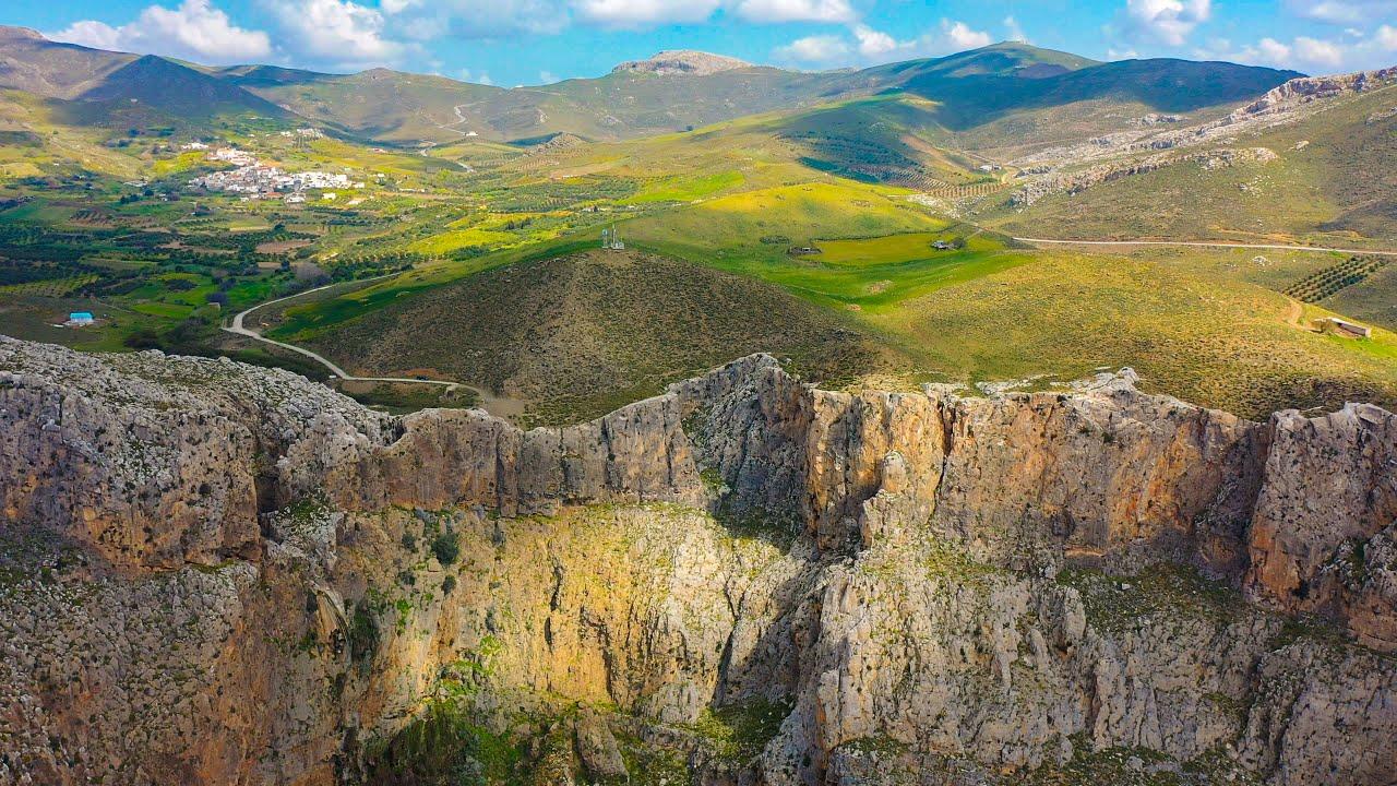 Το φαράγγι και ο καταρράκτης του Αμπά στα νότια Αστερούσια (βίντεο) -  Ιστορίες, Ρεπορτάζ, Σχολιασμός Κρήτης Blog   e-storieskritis.gr