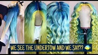 COLOR CLASS 101   FINDING DORY HAIR INSPO   WE SEE THE UNDERTOW AND WE SAY??